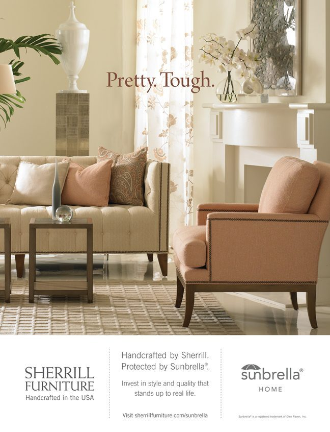 September 2014 Sherrill Furniture Traditional Home National Ad