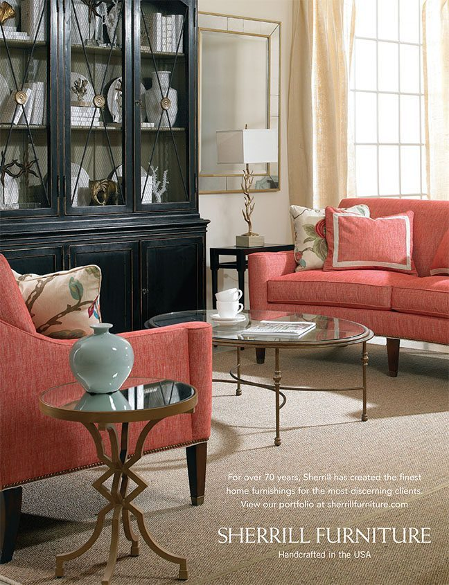 May 2015 Sherrill Furniture Traditional Home National Ad