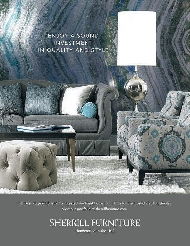 April 2015 Sherrill Furniture Traditional Home National Ad